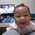 ニコニコ笑顔