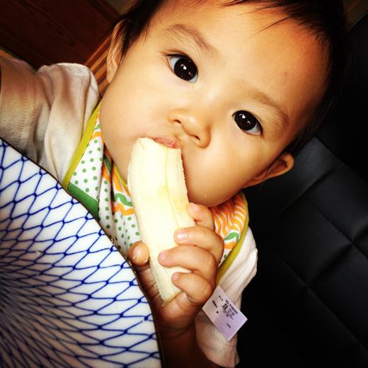 バナナ大好き!の赤ちゃん写真