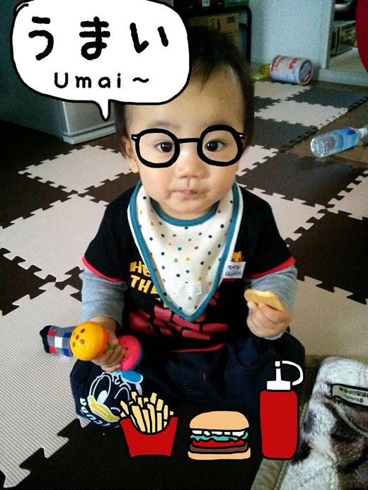 ハリー?食い倒れ太郎?の赤ちゃん写真