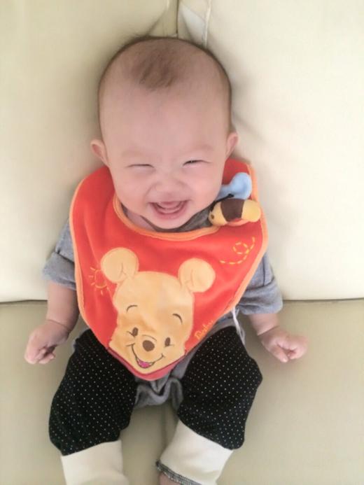 スマイルの赤ちゃん写真