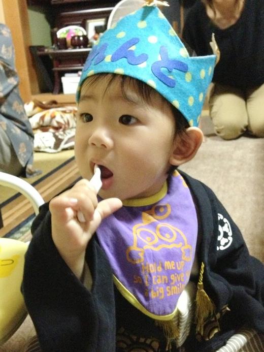 Happy Birthday☆の赤ちゃん写真