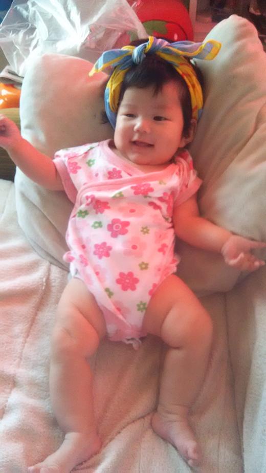 ギャル風、、、の赤ちゃん写真