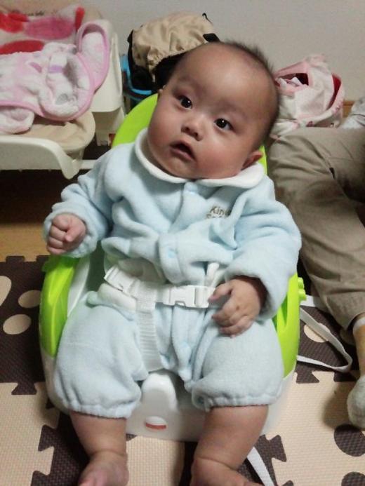 え??の赤ちゃん写真