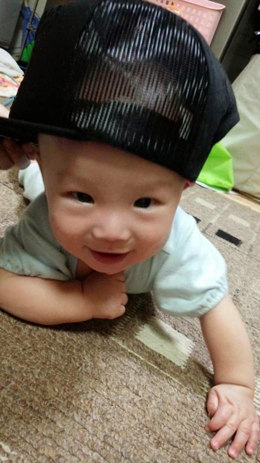 B-boyの赤ちゃん写真