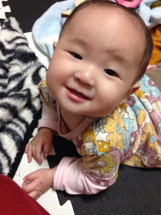 ドヤァ!の赤ちゃん写真