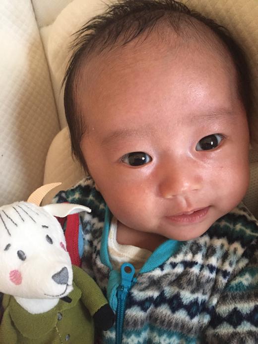 やぎさんと?の赤ちゃん写真