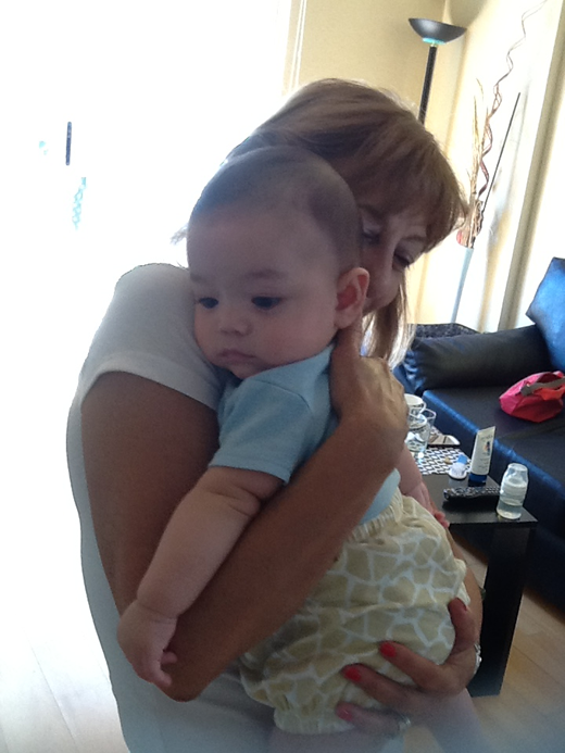 ギュっの赤ちゃん写真