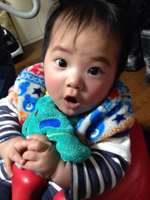 びっくり!の赤ちゃん写真