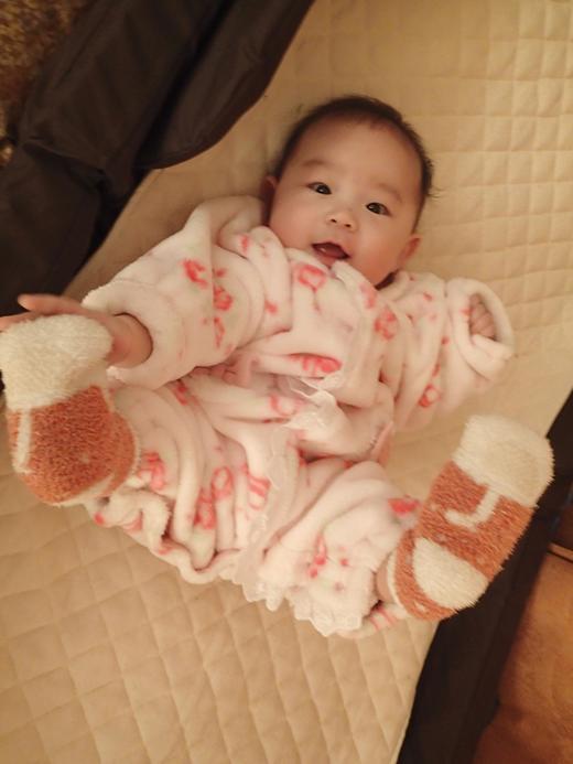 ★★運動中★★の赤ちゃん写真
