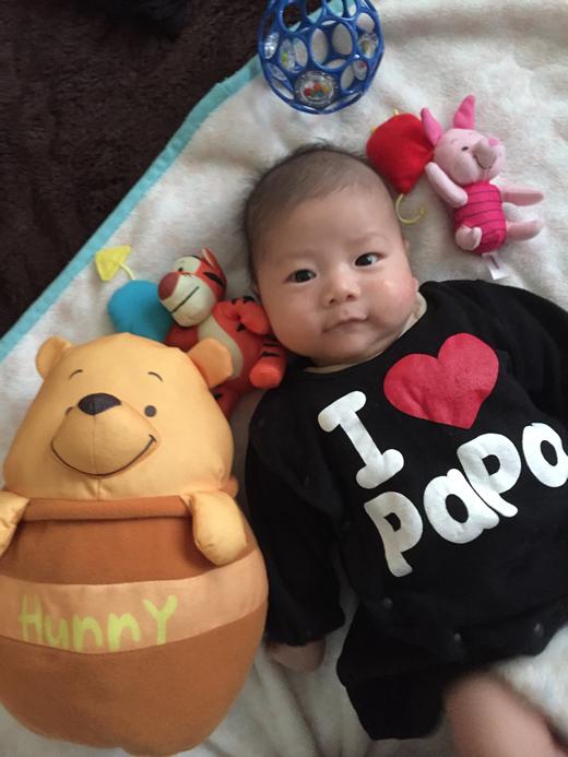 poohさんのの赤ちゃん写真