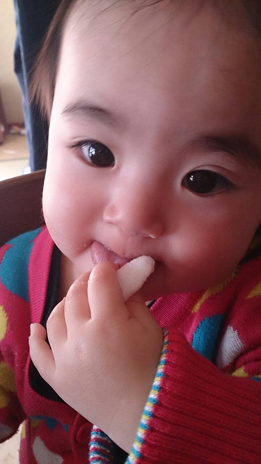 お菓子!の赤ちゃん写真