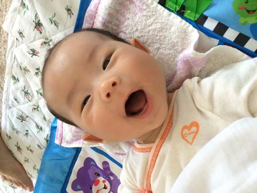 ばぁ!!の赤ちゃん写真