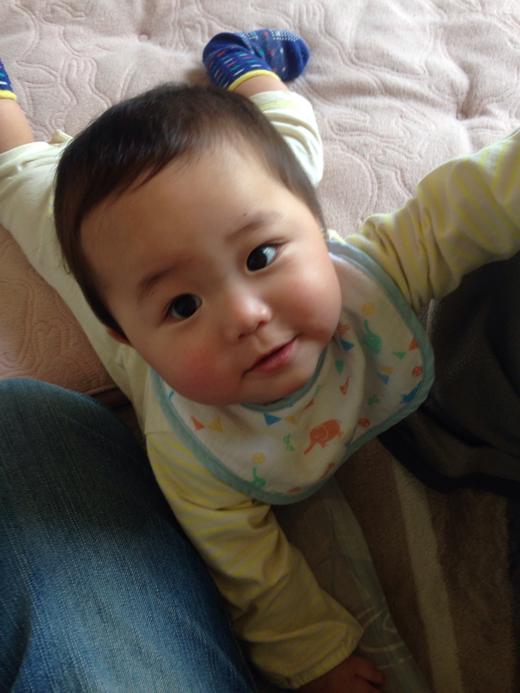 可愛く撮れた?の赤ちゃん写真