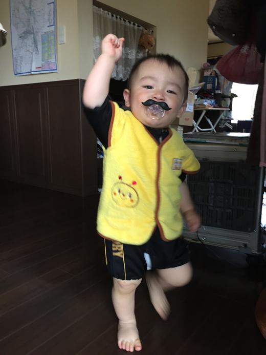 スーパーマリオの赤ちゃん写真