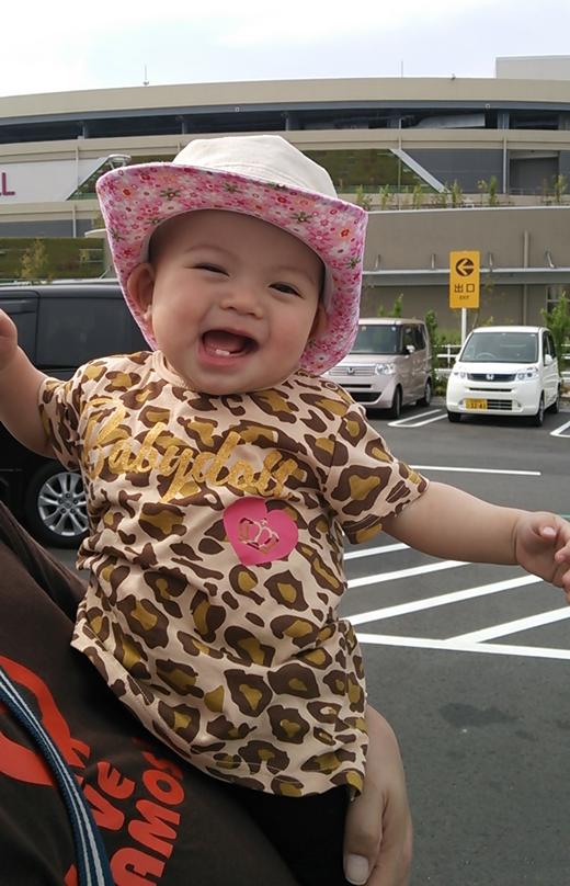ニッコリ~の赤ちゃん写真