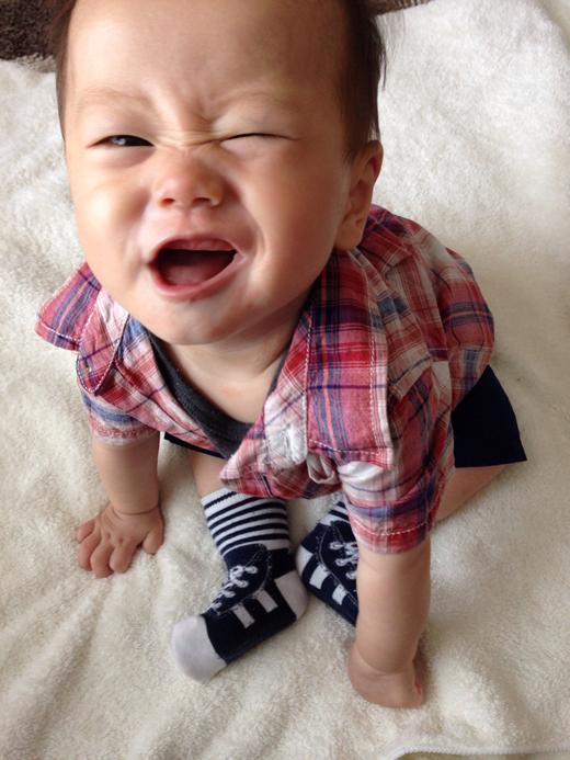 おすわりできたぜっ!の赤ちゃん写真