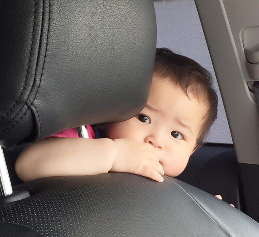 安全運転してね!の赤ちゃん写真