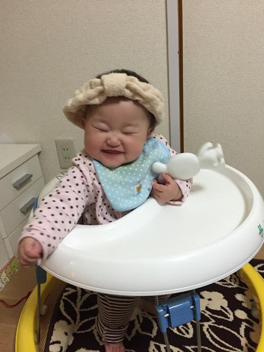 くしゃ!の赤ちゃん写真