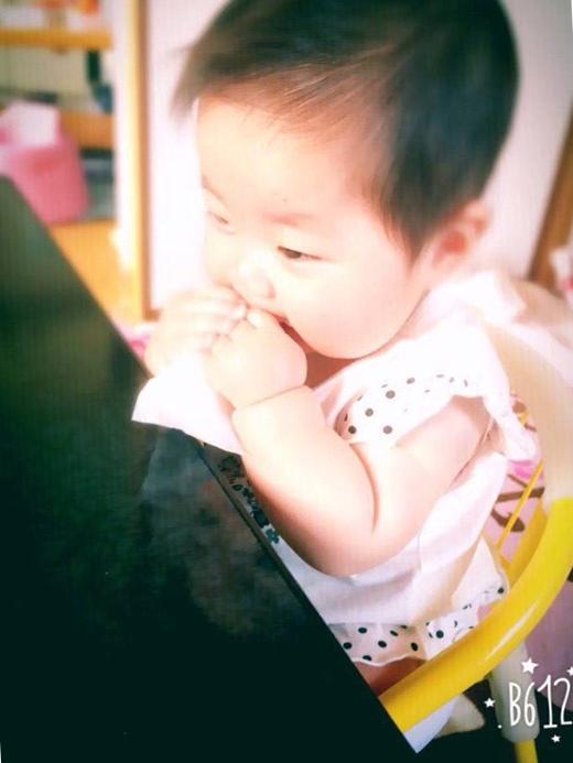 ぱくりとの赤ちゃん写真