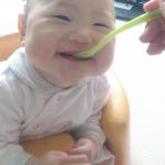 初めての離乳食