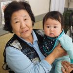 妙見おばあちゃんと2ショット!!