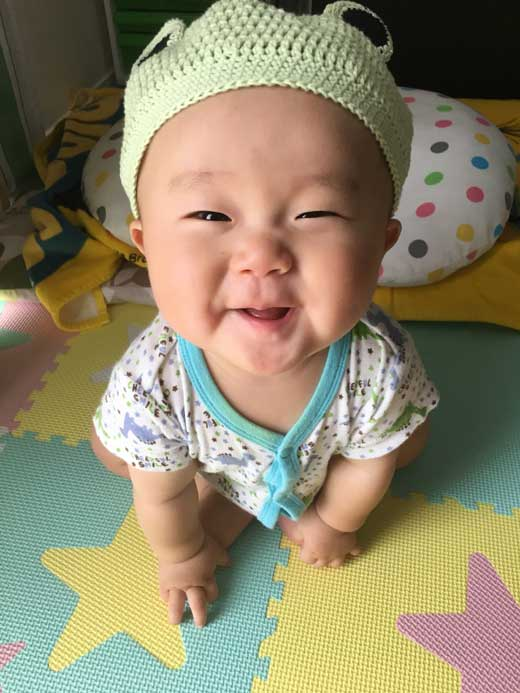 みんなの赤ちゃん写真館:そなちゃん
