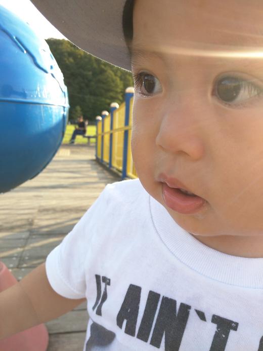 赤ちゃん写真スマイル:健晟(ケンセイ)くん
