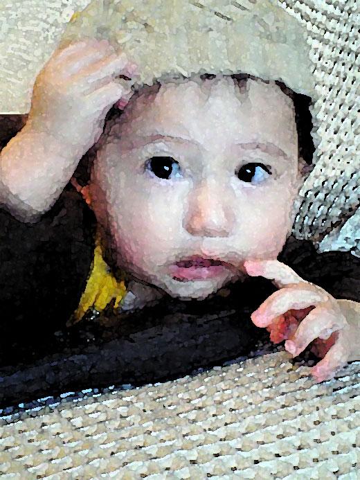 赤ちゃん写真スマイル:リョウタくん