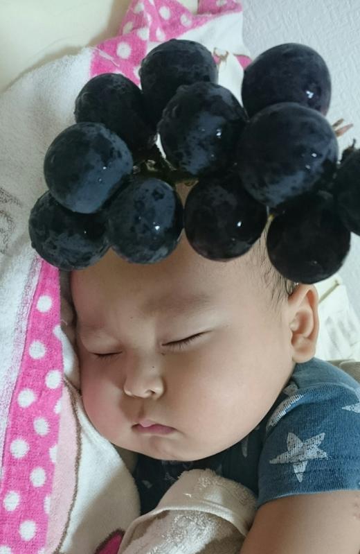 赤ちゃん写真スマイル:アキトくん