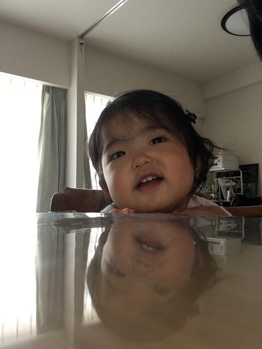 赤ちゃん写真スマイル:ヒカルちゃん