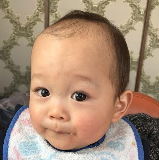 赤ちゃん写真スマイル:ユカリちゃん