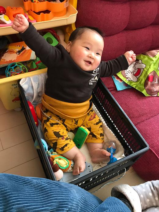 赤ちゃん写真Smile:奏樹(ソウジュ)くん