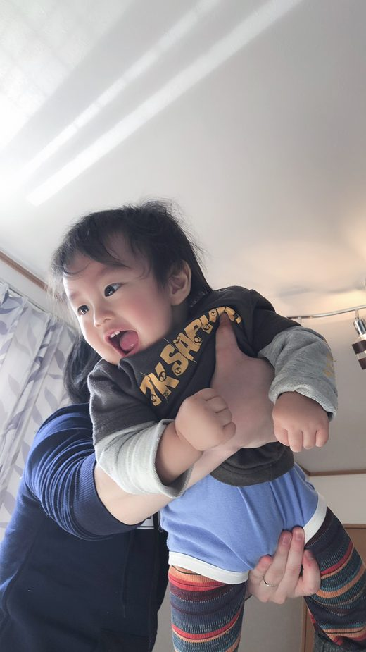赤ちゃん写真スマイル:トワくん