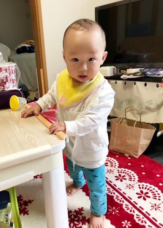 赤ちゃん写真スマイル:レオくん