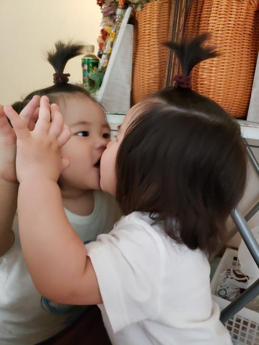 赤ちゃん写真スマイル:まおちゃん